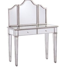 House of Hampton Kaila Vanity Set with Mirror