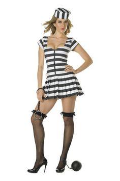 Prisoner of Love Womens Prisoner Costume #CompleteCostume