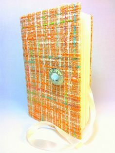 Unique Journal / Notebook  designed with orange by Newleafjournals, $38.50