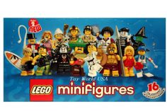 disney world  lego city | Details about Lego Minifigures #8684 FULL COMPLETE SET Series 2