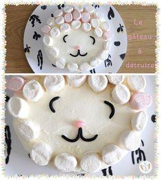 Idée de gâteau d'anniversaire à détruire. Pour ses 1 an, bébé peut le manger mais surtout le détruire. Voici la recette détaillée pour réaliser ce gâteau.