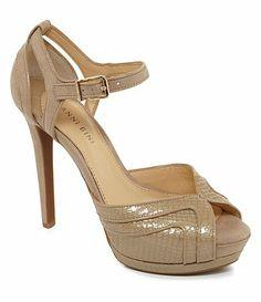 Available at Dillards.com #Dillards. Gianni Bini Sabrina Dress Sandals sale price $53.99