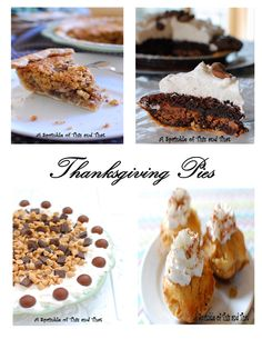 You need ALL these pies on your Thanksgiving table!