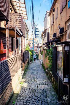 Kagurazaka district, Tokyo, Japan.