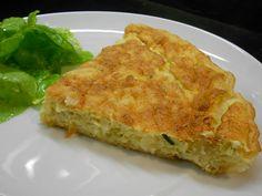 Bacalhau Pie, know as Tarte de Bacalhau, is a unique take on the traditional Bacalhau com Natas dish in Portuguese cuisine.