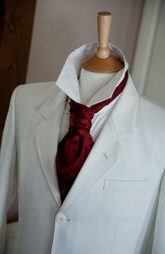 Burgundy Cravat - the Butch Clothing Company - UK - AWESOME
