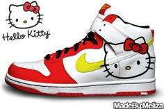 reputable site a810c 08154 17 Best Hello Kitty Nike Dunks images | Hello kitty shoes, Women ...