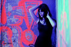 #acting #actress #kimberly #trebbi #auditions #modeling #model #blue #graffiti