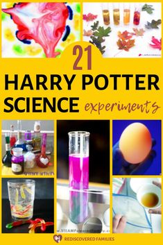 Even muggles can enjoy these Harry Potter science activities. These magical experiments are perfect for use at home or in the classroom. Wands are optional.