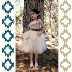 Pocahontas inspired tutu costume by FluffyBottomBoutique on Etsy