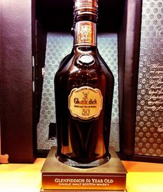 50-year-old Glenfiddich Single Malt scotch.  The 700-millilitre bottle, which was in a glass case, is worth $26,000. Only 50 bottles were made worldwide.