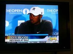 Surprisingly, this is the one thing I didn't know about Tiger Woods. | 22 Times The News Failed So Hard It Almost Won