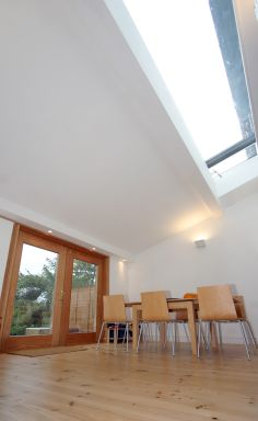 Rooflight to maximise light to family dining area by chadwickdryerclarke