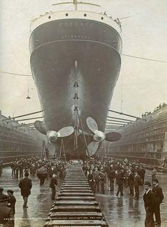 RMS Oceanic, Liverpool Liverpool Docks