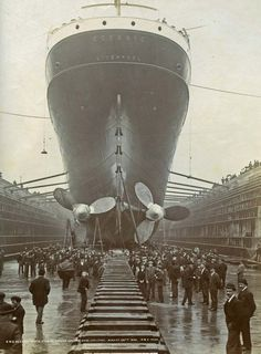 The Oceanic, the predecessor of the Titanic