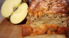 Potetene i denne oppskriften gjør at eplekaken holder seg saftig og deilig.