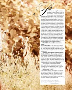 The Olivia Palermo Lookbook : Olivia Palermo in Yo Dona Magazine Scans