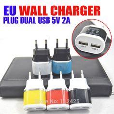 2 usb 2a charger eu