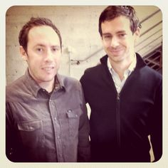 If you only look at 1 photo of @jack and @joefernandez today, let it be this one. @ Klout Office - @ashrust