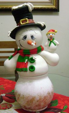 Christmas Clay, Christmas Lights, Xmas, Merry Christmas, Christmas Ornaments, Christmas Ideas, Snowman Decorations, Christmas Decorations, Clay Crafts