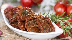 Sušená rajčata - není to lepší, než doma vyrábět kečup Foto: