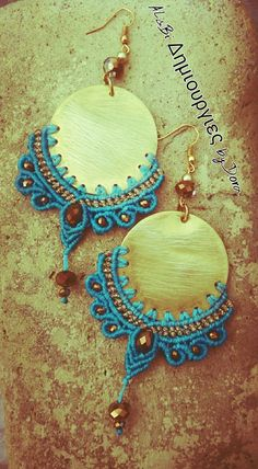 macrame earrings                                                                                                                                                                                 More