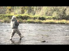 Fly fishing on the Salmon River