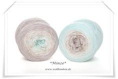 Minze, Wollbonbon Hagen, Farbverlaufwolle, ab 49 € Versandkostenfrei