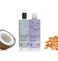 Set combinație pentru îngrijirea corpului&mâinilor (Gel de duș și Cremă de mâini hidratanta) Hand Lotion, Body Lotion, Organic Beauty, Shampoo, Moisturizer, Pure Products, Bottle, Moisturiser, Flask