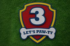 Paw Patrol invitations by lillovebugcreations on Etsy