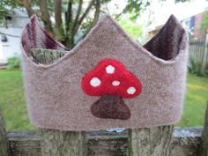 Recycled Wool Sweater Crown another stocking stuffer idea!