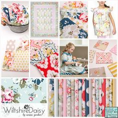 Wiltshire Daisy designed by Carina Gardner for Riley Blake Designs #rileyblakedesigns #carinagardner #wiltshiredaisy