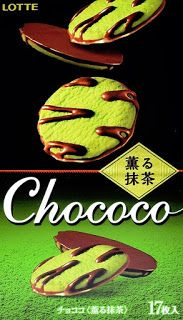 Schreib-Welten: Produkttest: Lotte Chococo Matcha