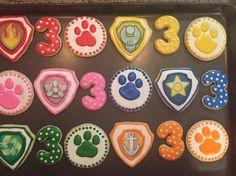 Paw Patrol Cookies by CelebratewithCookies on Etsy