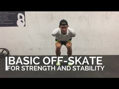 Strength and stability off skate training
