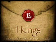 Image result for books of the bible 1 kings