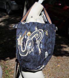 aus einem Sommerwickelrock wird eine Stylische Tasche