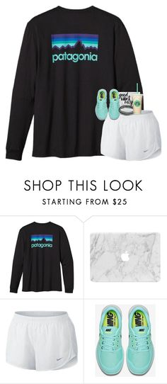 """the greatest casualty is being forgotten"" by preppymilitarybrat ❤ liked on Polyvore featuring Patagonia, NIKE and NOVICA"