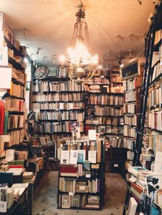 Bookshop at Le Pont Traversé at 62 Rue de Vaugirard, Paris.