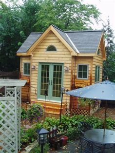 Garden Sheds Offer A Unique Focal Point In Your Cottage Garden