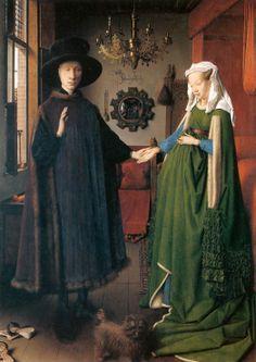 10. Małżeństwo Arnolfinich, van Eyck