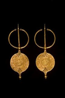 North African earrings from the Museum for African Art