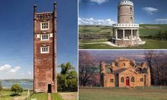 A Georgian folly and a PIGSTY! The UK's booming holiday homes Historic Properties, Georgian, Restoration, Homes, Mansions, House Styles, Building, Holiday, Travel