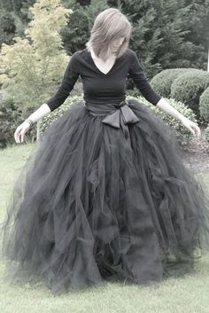 big black puffy ball gown skirts for me please :)