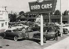50 39 s used car auto dealer old car lot automobilia photo americana minneapolis mn cars the o. Black Bedroom Furniture Sets. Home Design Ideas