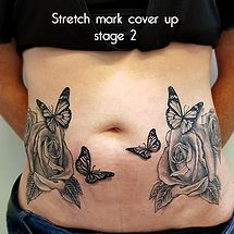 tattoos to cover stretch marks stomach \ tattoos to cover stretch marks + tattoos to cover stretch marks on belly + tattoos to cover stretch marks hips + tattoos to cover stretch marks arms + tattoos to cover stretch marks stomach Tattoo Cover Stretch Marks, Stretch Marks On Stomach, Cover Tattoo, Belly Tattoos, Stomach Tattoos, Wing Tattoos, Abdomen Tattoo, Arm Tattoo, Picture Tattoos