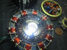 Arc Reactor – Life in the Uncanny Valley Electronics Mini Projects, Diy Electronics, Tony Iron Man, Aircraft Maintenance Engineer, Tesla Technology, Iron Man Arc Reactor, Iron Man Cosplay, Iron Man Art, Diy Tech
