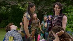 hooked by harry Descendants Videos, Descendants Characters, Disney Descendants 3, Descendants Cast, Disney Magical World, Harry Hook, Isle Of The Lost, Sarah Jeffery, Live Action Movie