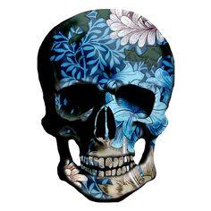 https://flic.kr/p/b7vbWF   Morris Flowers Skull x 1