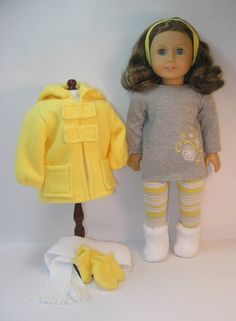 15812 18 Inch American Girl Clothes Jacket by terristouch